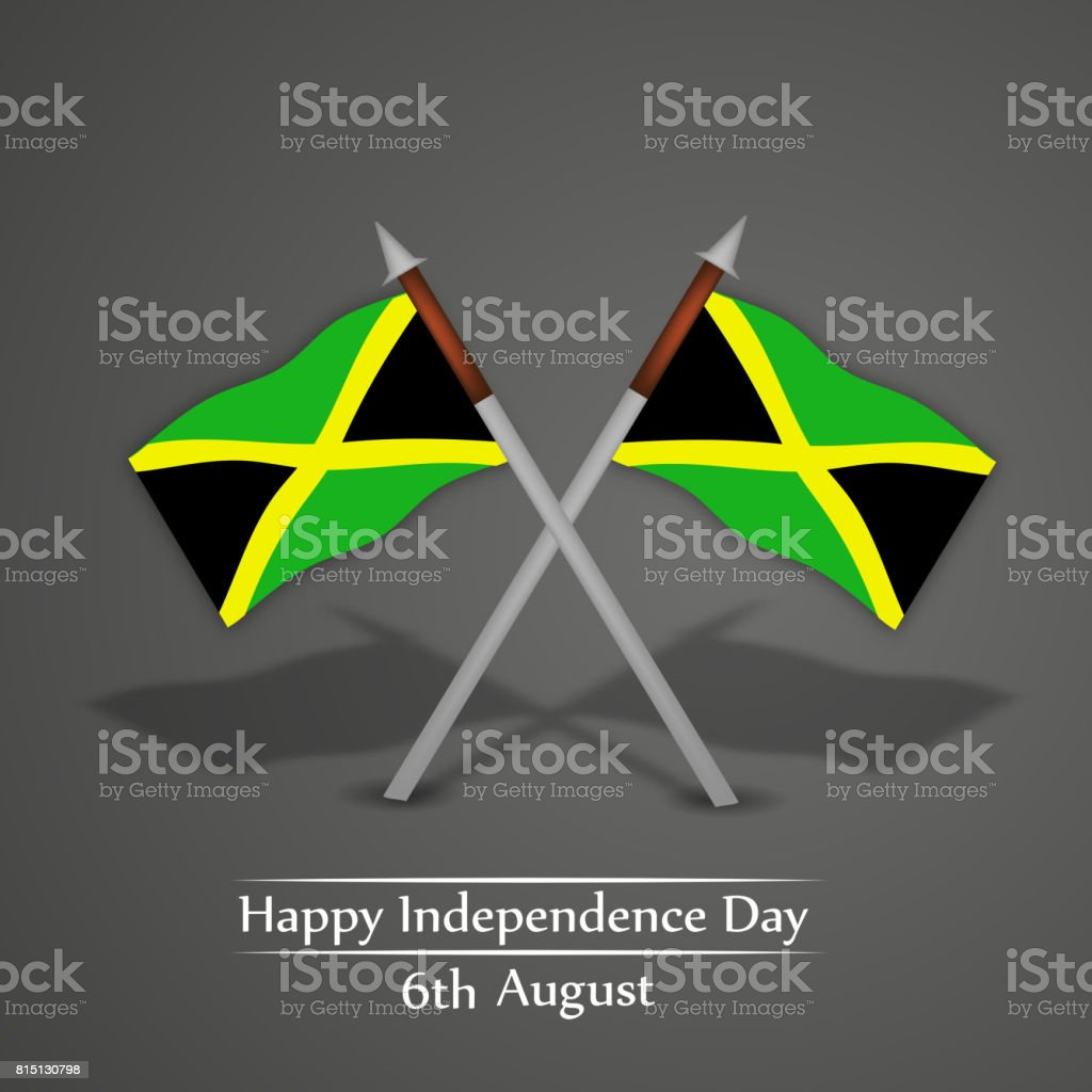Illustration Of Background For The Occasion Of Jamaica - Jamaica independence day