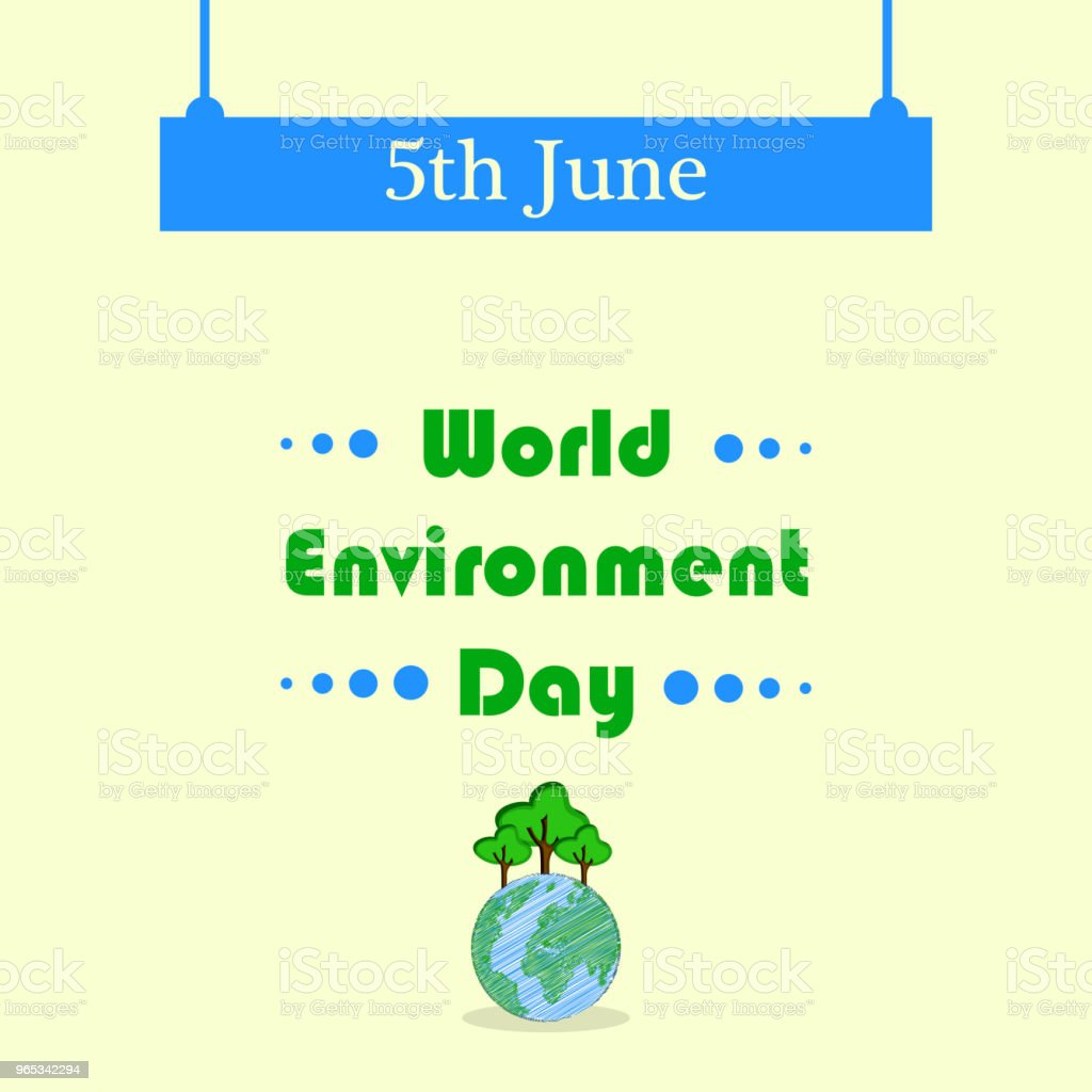 Illustration of background for World Environment Day illustration of background for world environment day - stockowe grafiki wektorowe i więcej obrazów abstrakcja royalty-free
