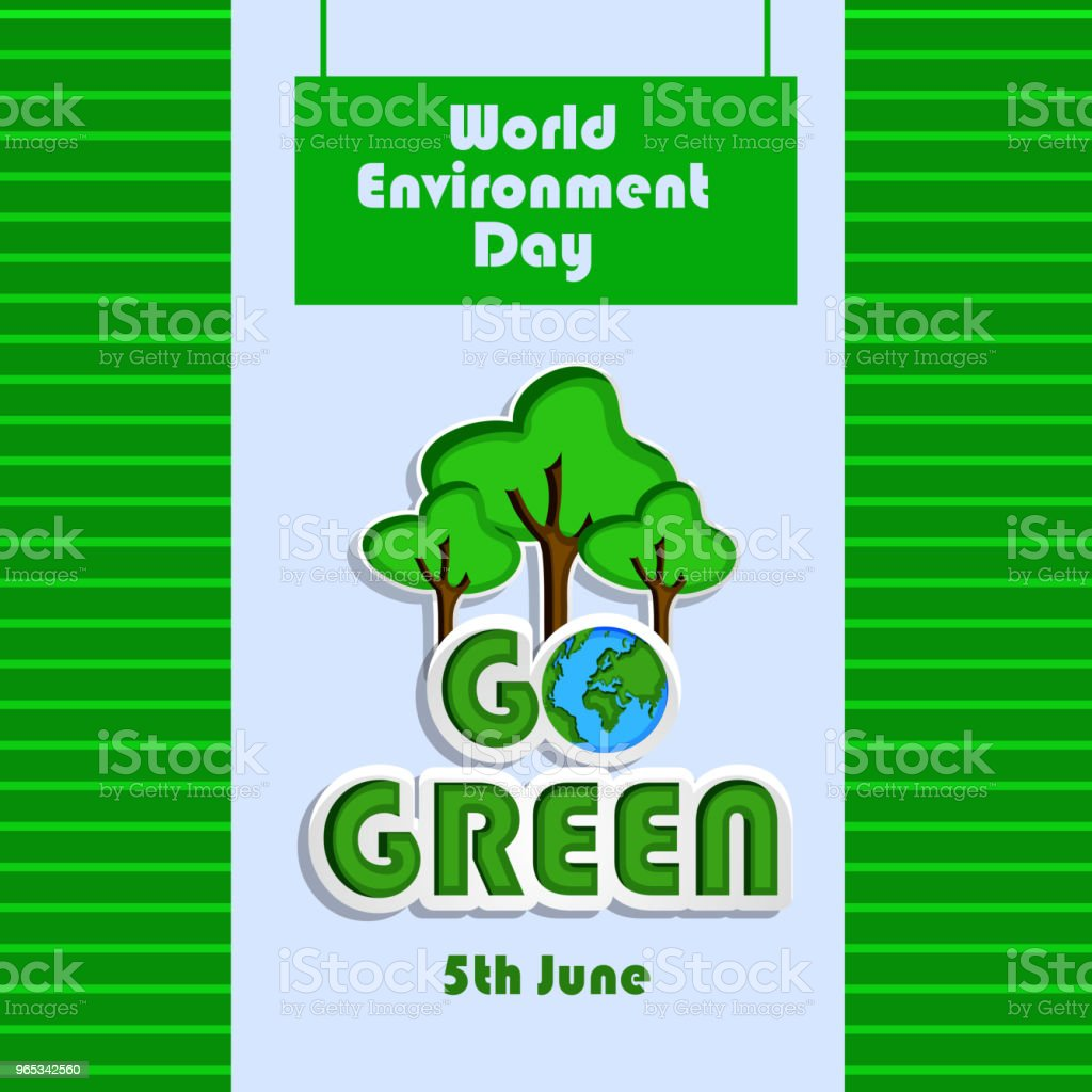 Illustration of background for World Environment Day royalty-free illustration of background for world environment day stock vector art & more images of abstract