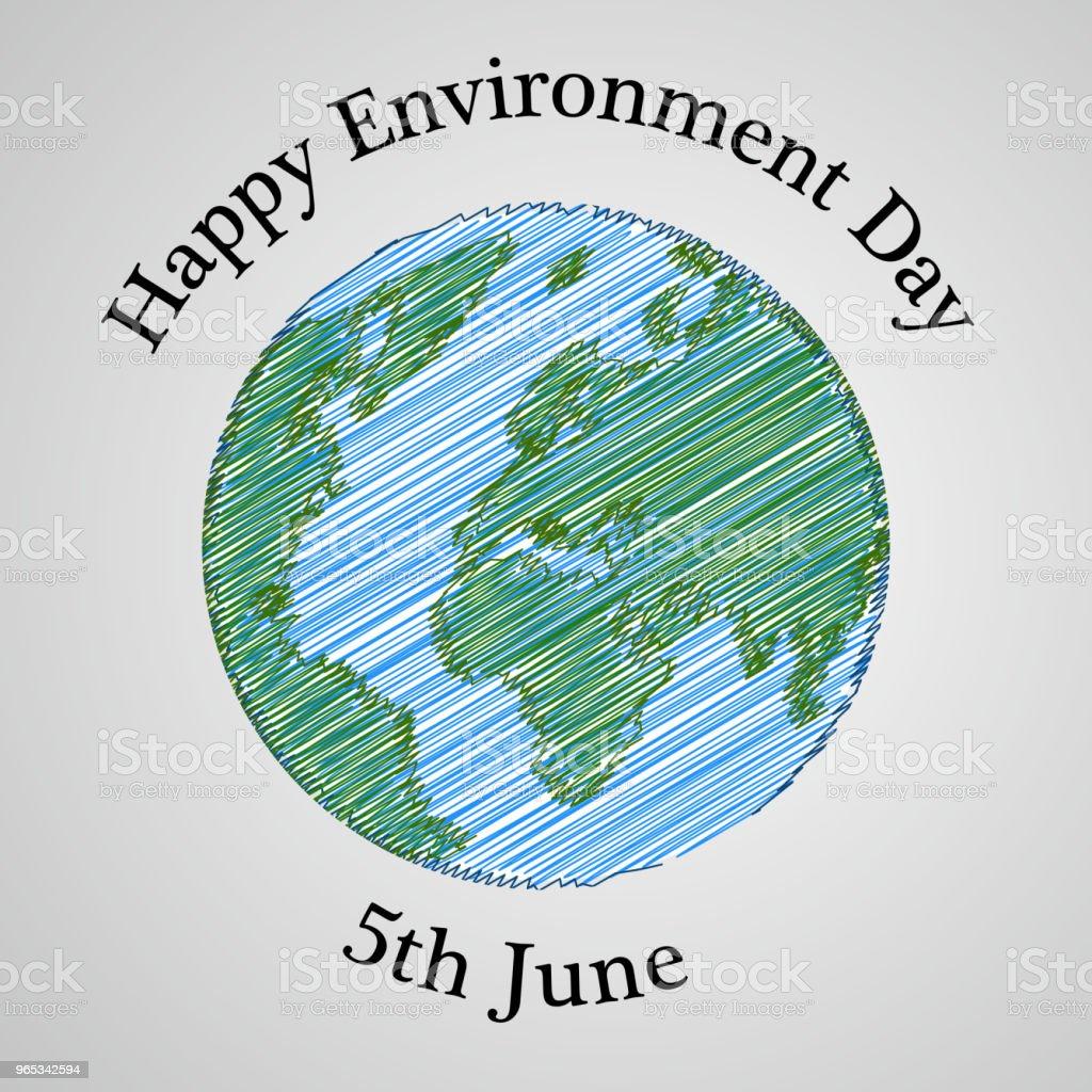 Illustration of background for World Environment Day illustration of background for world environment day - stockowe grafiki wektorowe i więcej obrazów abstrakcja royalty-free