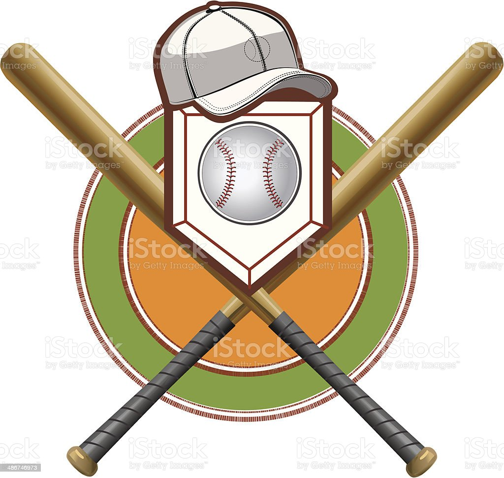 Baseball Bat Hitting Ball Clipart