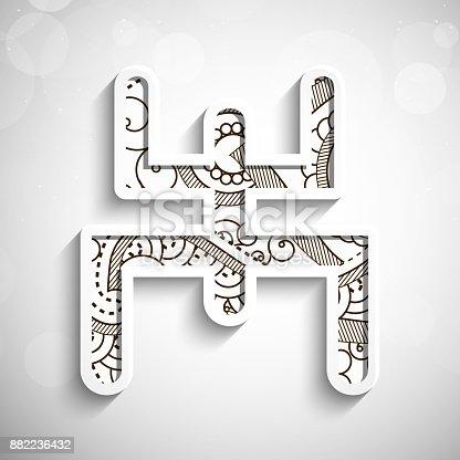 illustration of elements of Bengali New Year Background