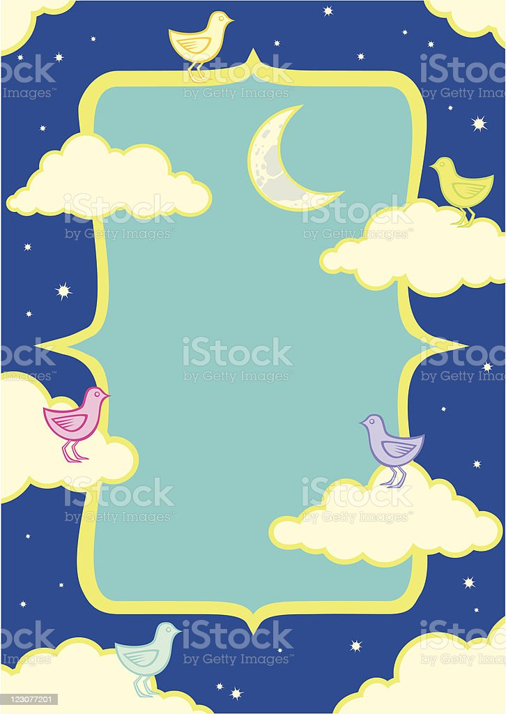Illustration of birds in the clouds royalty-free illustration of birds in the clouds stock vector art & more images of animal