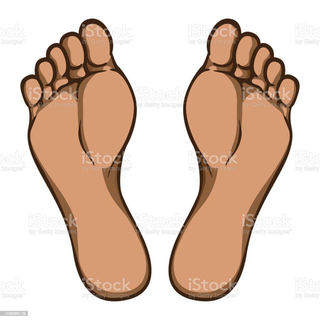 planta del pie para dibujar