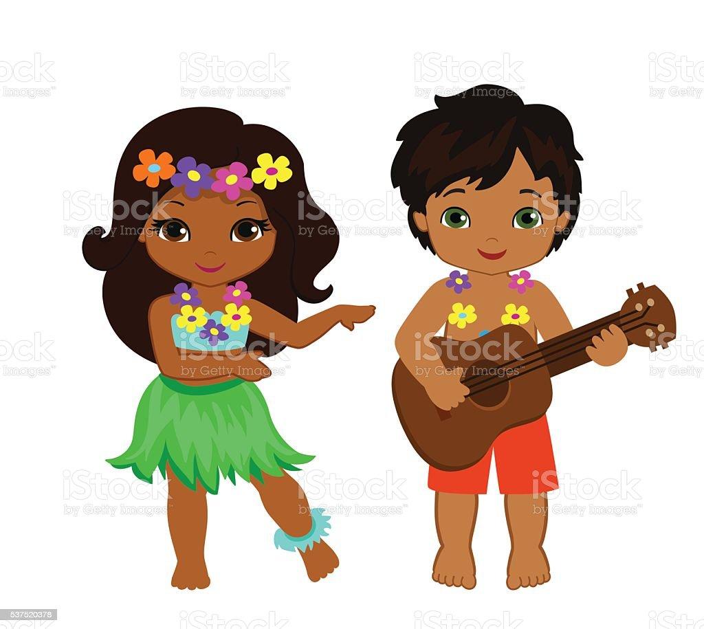 royalty free hula dancing clip art vector images illustrations rh istockphoto com Aloha Clip Art Luau Clip Art
