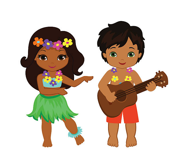 Best Hula Dancing Illustrations, Royalty-Free Vector ...
