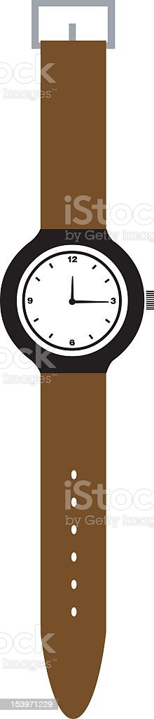 Illustration of brown band watch royalty-free illustration of brown band watch stock vector art & more images of adrián fernández - race car driver