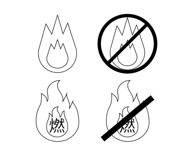 可燃垃圾和不可燃燒垃圾的插圖 - dumpster fire 幅插畫檔、美工圖案、卡通及圖標