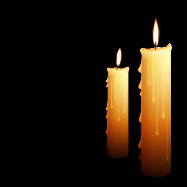Royalty Free Melting Candle Wax - 18.2KB