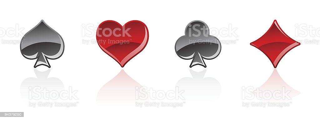 Illustration of card symbols royalty-free illustration of card symbols stock vector art & more images of ace of clubs