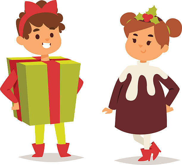 Royalty Free Christmas Dress Clip Art, Vector Images ...