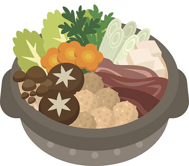 illustration of casserole - 鍋点のイラスト素材/クリップアート素材/マンガ素材/アイコン素材