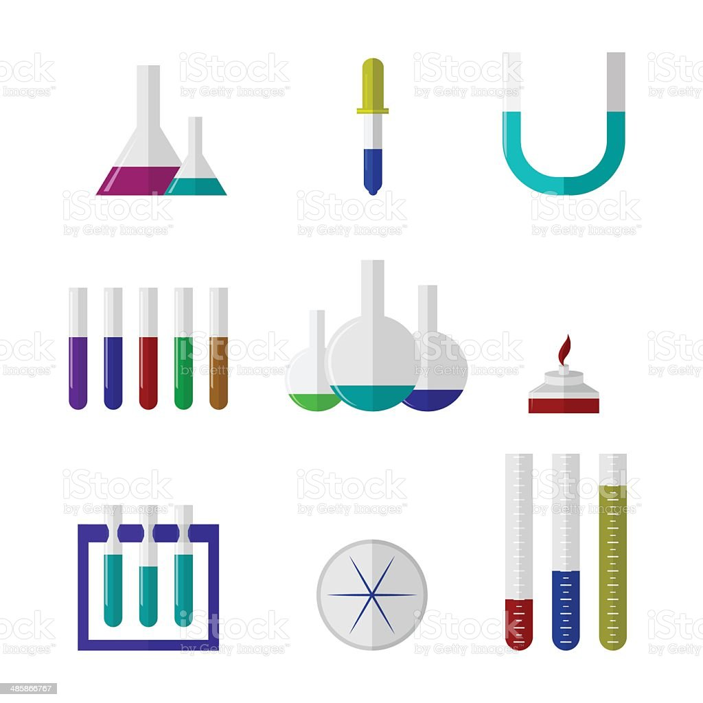 Illustration of chemistry labware royalty-free illustration of chemistry labware stock vector art & more images of arts culture and entertainment