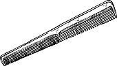 illustration of comb