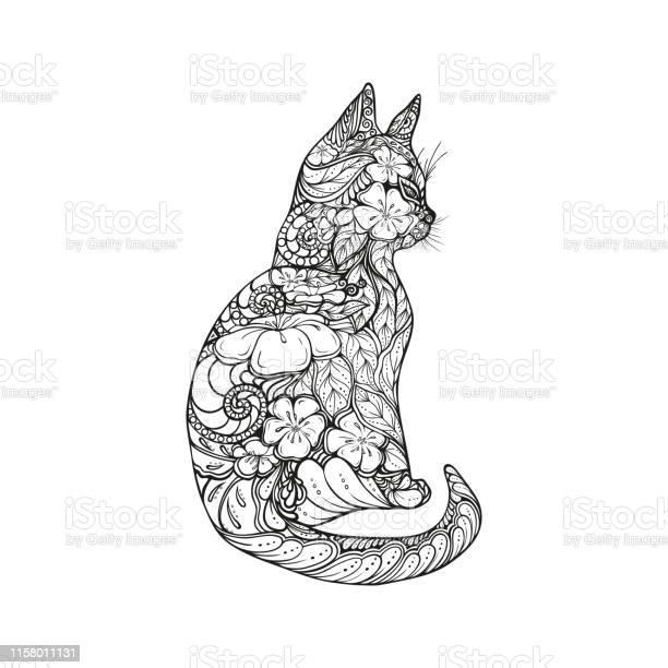 Illustration of contour drawing of cat artistic drawing of cat with vector id1158011131?b=1&k=6&m=1158011131&s=612x612&h=y9bc5zjg9sowka4sk02m4otayfsnprvbwxhk2nieo44=