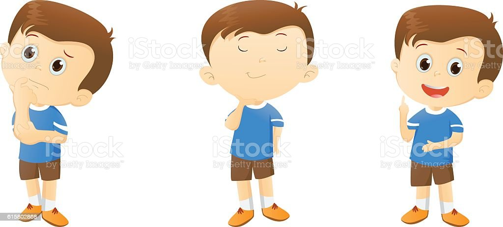 royalty free boy thinking clip art vector images illustrations rh istockphoto com little boy thinking clipart boy and girl thinking clipart