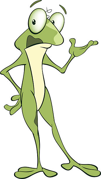 Royalty Free Ugly Frog Cartoon Clip Art, Vector Images ...