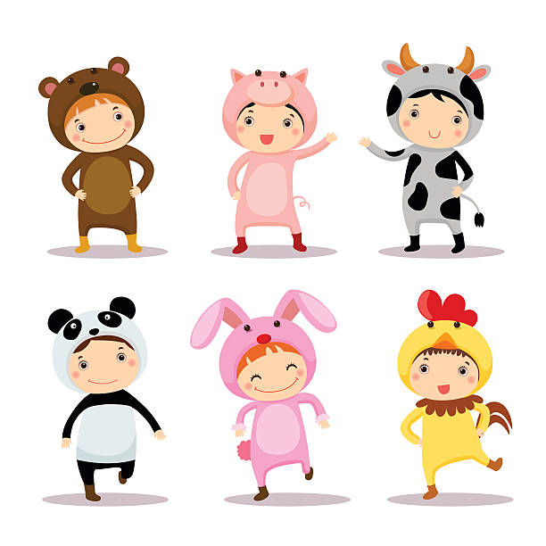 Pig Costume Illustrations, Royalty-Free Vector Graphics ...