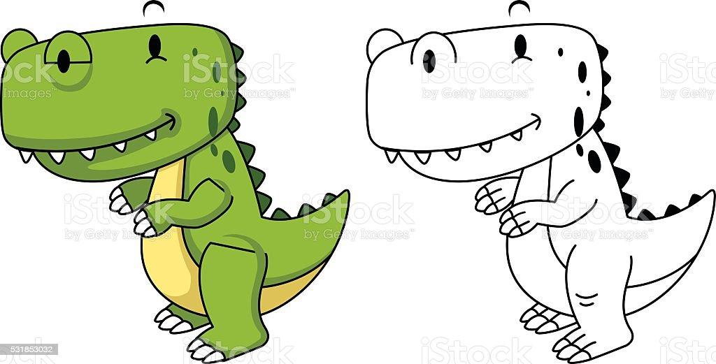 Ilustración de Ilustración De Educación Libro Para Colorear De ...