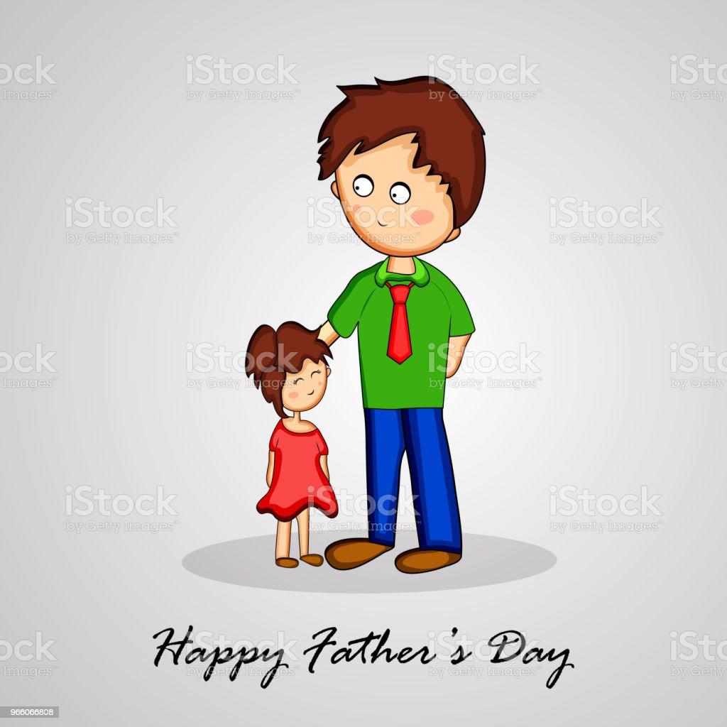 illustration av delar av fäder dag bakgrund - Royaltyfri Abstrakt vektorgrafik