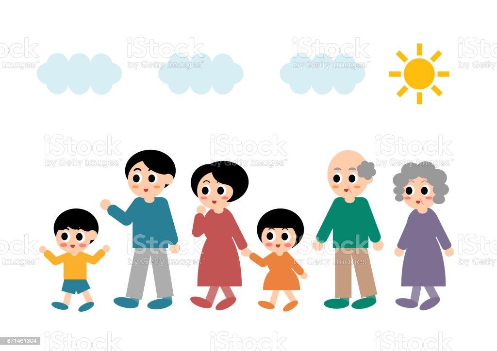 Illustration De La Famille Vecteurs Libres De Droits Et Plus D Images Vectorielles De Adulte Istock