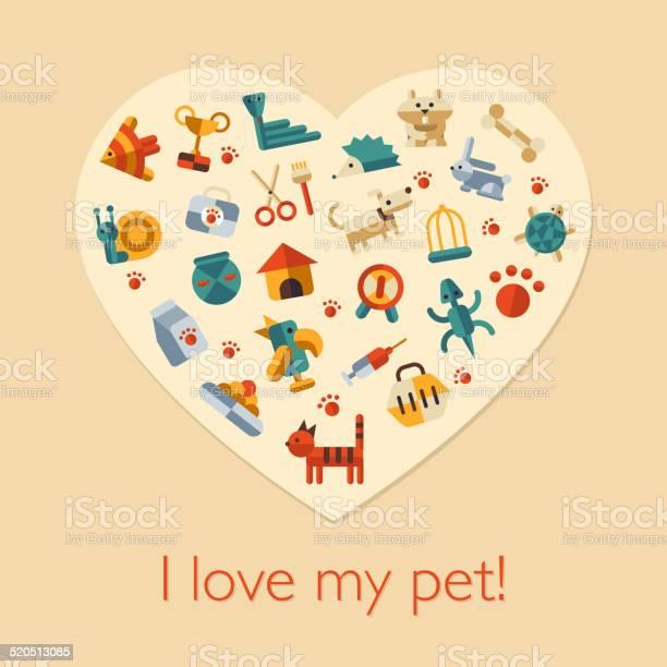 Illustration of flat design pets composition vector id520513085?b=1&k=6&m=520513085&s=612x612&h=y8bpcbnapmxdpgoxwsdv5iadtexetmsuotsllmgpvow=