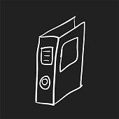 Illustration of folder icon