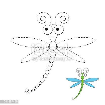 istock Página para colorear con caracol en flor. Dibujo juego de niños ...