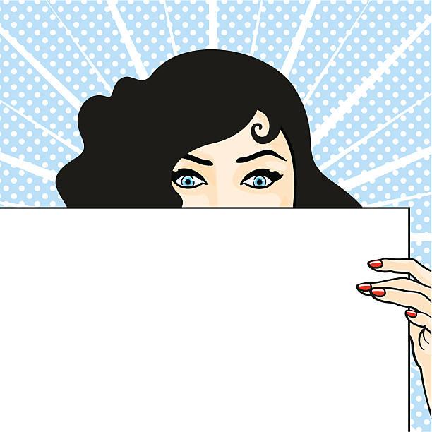 illustrazioni stock, clip art, cartoni animati e icone di tendenza di donna di lettura - donna si nasconde