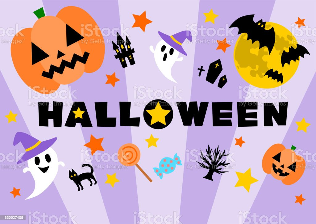 Illustration of Halloween vector art illustration