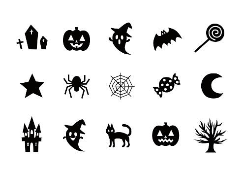 Illustration of Halloween(icon)