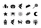 istock Illustration of Halloween(icon) 840719300