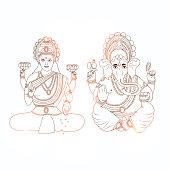 illustration of Hindu Festival Bhai Dooj Background