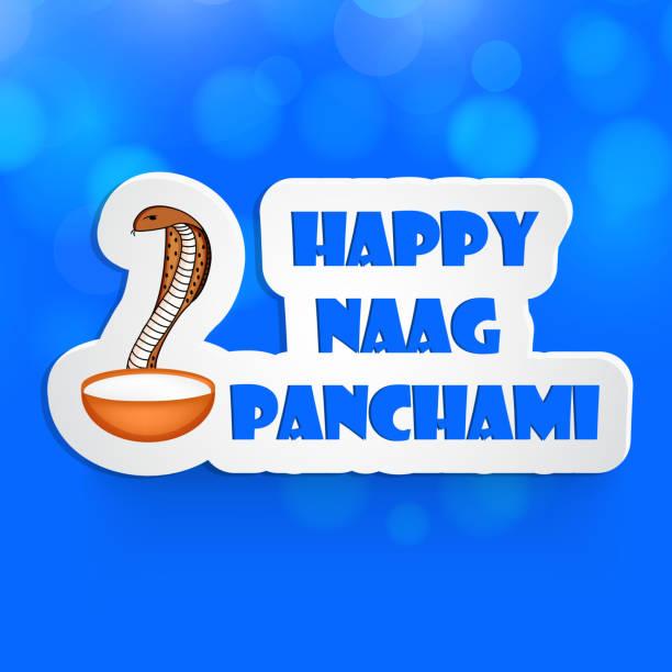 illustration der hinduistische festival naag panchami hintergrund - mantra stock-grafiken, -clipart, -cartoons und -symbole