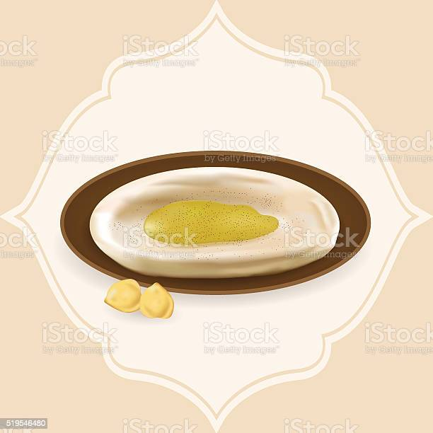 Illustration of hummus with hummus beans vector id519546480?b=1&k=6&m=519546480&s=612x612&h=meat65lxxc k5tvgackesyzke3vp4jkrmyjx8kguxbc=