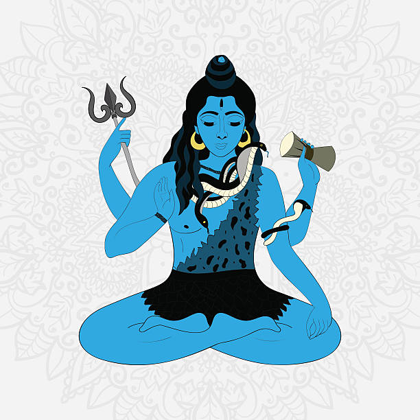 Royalty Free Shiva Clip Art, Vector Images & Illustrations ...