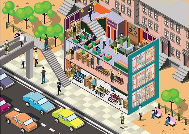 illustrations, cliparts, dessins animés et icônes de info graphisme illustration de concept de l'intérieur - réception en plein air