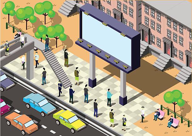 illustrations, cliparts, dessins animés et icônes de info graphisme illustration de concept de ville - réception en plein air