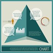 illustration of infographic chart