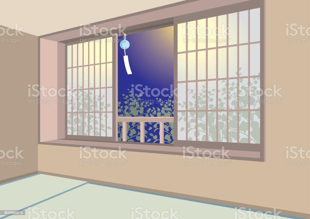 Abbildung Von Innen / Japanisches Zimmer Lizenzfreies Abbildung Von Innen  Japanisches Zimmer Stock Vektor Art Und