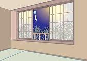 Illustration of interior / Japanese-style room