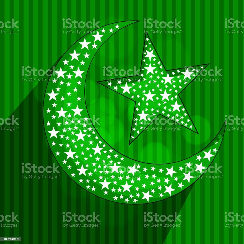 illustration of islamic new year background royalty free illustration of islamic new year background stock