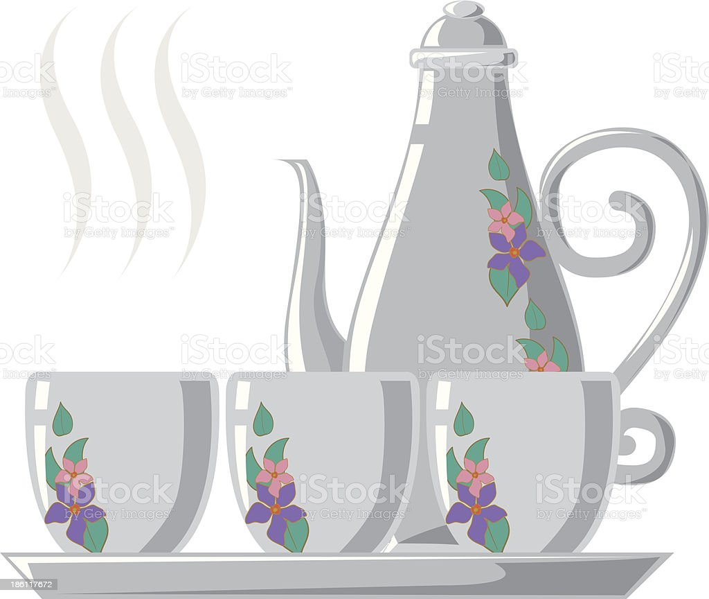 illustration of isolated coffee royalty-free stock vector art