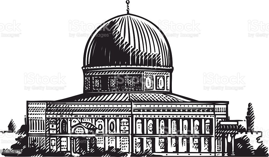 illustration of Jerusalem royalty-free illustration of jerusalem stock vector art & more images of architecture