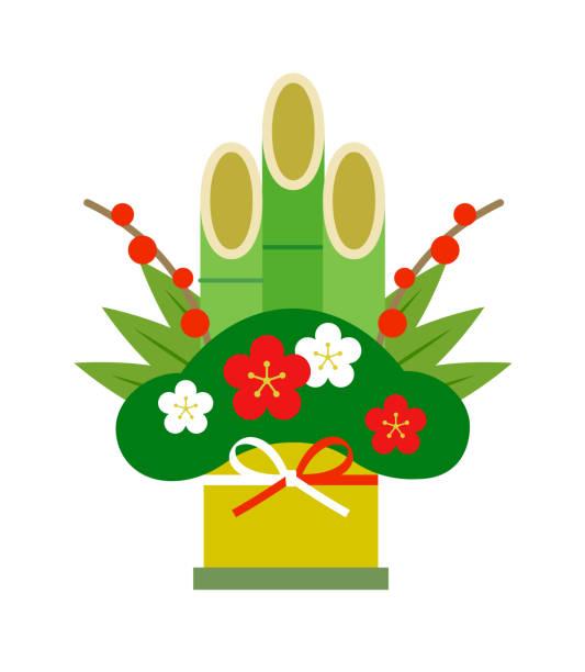 門松新年アイコンのイラスト - 門松点のイラスト素材/クリップアート素材/マンガ素材/アイコン素材