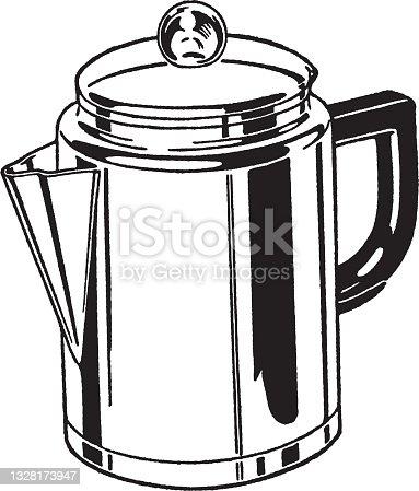 istock Illustration of kettle 1328173947