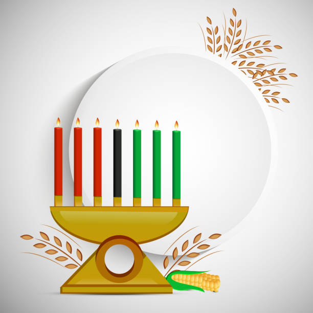 illustration de fond de Kwanzaa - Illustration vectorielle
