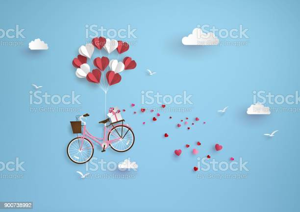 Illustration Of Love And Valentine Day Stock Illustration - Download Image Now