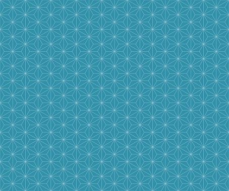 Illustration of material for background of hemp leaf pattern (Blue).
