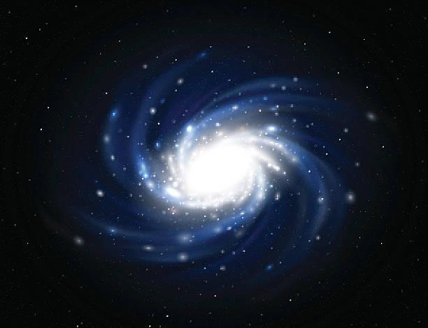 abbildung eines milchstraße - milky way stock-grafiken, -clipart, -cartoons und -symbole